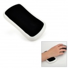 360 Degree Sliding Comfort Mouse Wrist Support Pad - Black + White