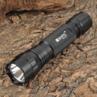 RUSTU R01-Q5 300lm 5-Mode White Flashlight - Black (1 x 18650)