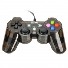 USB Wired Game Controller - Tranlucent Black