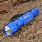 RUSTU R03L 800lm 3-Mode Memory White Flashlight - Blue (1 x 18650)