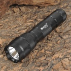 RUSTU R02B-Q5 300lm 5-Mode White Flashlight - Black (1 x 18650)