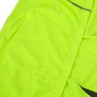 NUCKILY NJ600-L Cycling Riding Long Sleeves Jersey - Fluorescence Green + Black (Size-XXL)