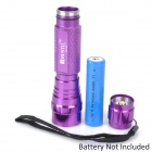 RUSTU R03Z 800lm 5-Mode White Flashlight - Purple (1 x 18650)