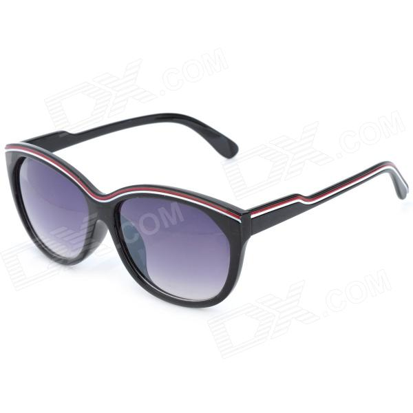OREKA 86408 PC Lens UV400 Protection Sunglasses Goggles for Women - Black