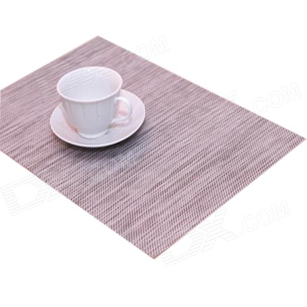 High Quality Table Mat - Silver Grey