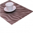 JH018601 High Quality Table Mat - Grey + Light Brown