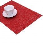 JH018603 High Quality Table Mat - Red