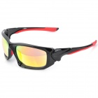 OREKA WG-004 Cool Outdoor Sports UV Protection Sunglasses - Black + Red Frame