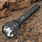 RUSTU RM77 5-Mode White Gun Mount Flashlight - Black (2 x 18650)