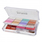 KB9051-03# Cosmetic Makeup 12-Eyeshadow +16-Lipstick + 8-Blusher Set