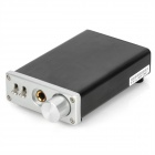 S.M.S.L sApII TPA6120A2 Mini 2-Channel Headphone Amplifier w/ AC Charger - Silver + Black