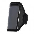 Fashion Sports Gym Lauf Arm Band Case für iPhone 3G / 3GS / 4 / 4S / 5 - Schwarz
