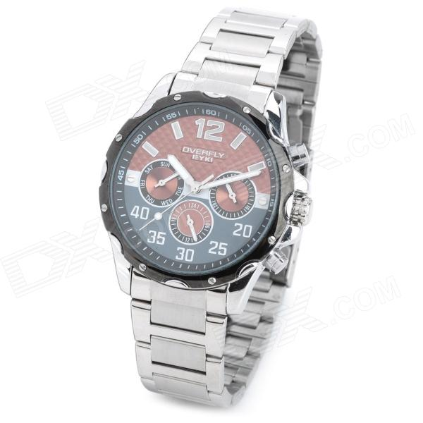 EYKI Stainless Steel Analog Quartz Wrist Watch for Men (1 x 377) 20pcs tny179pn tny179p tny179 dip7