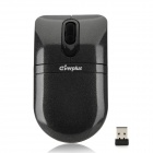 Everplus E54 2.4GHz USB 2.0 800 / 1200dpi Wireless Optical Mouse - Black (2 x AAA)