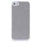 Protective Shining Plastic Back Case for Iphone 5 - Silver