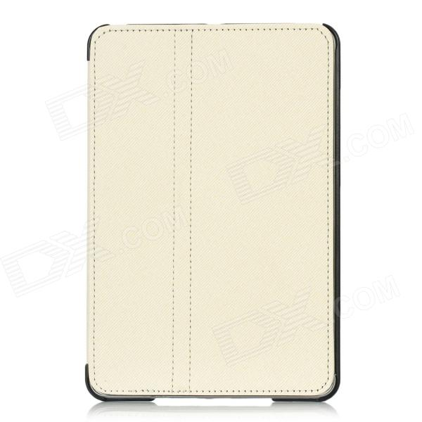 Protective PU Leather Case for Ipad MINI - Beige клип кейс ibox blaze для samsung galaxy j1 mini розовая рамка прозрачный