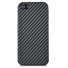 Woven Pattern Protective Back Case for Iphone 5 - Black
