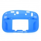 Protective Silicone Soft Back Case Cover for Nintendo Wii U - Blue