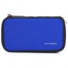 CITYWOLF Protective Dual Zippers Soft Bag w/ Lanyard for Nintendo Wii U GamePad - Blue