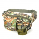 Water Resistant 420D Nylon Oxford Fabric Waist Bag - Camouflage Color