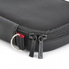 CITYWOLF Protective Dual Zippers Soft Bag w/ Lanyard for Nintendo Wii U GamePad - Black