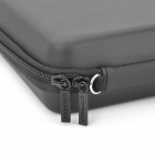 CITYWOLF Protective Dual Zippers Hard Case Bag w/ Strap for Nintendo Wii U - Black