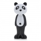 Cute Panda Shaped Kid&#039;s Expansive Toothbrush w/ Dust Cover - Black + White
