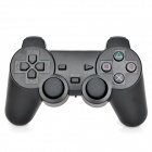 2.4GHz Wireless Dual Vibration Game Controller for PC / PS2 / PS3 - Black (2 x AA)