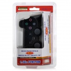 2.4GHz Wireless Dual Vibration Game Controller for PC / PS2 / PS3 - Black (2 x AAA)