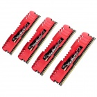 G.SKILL F3-12800CL9Q-16GBZL RipjawsZ DDR3 1600 16G(4 x 4GB) RAM Memory for Desktop PC - Red (4 PCS)