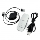 B-LINK BL-MP01 Portable Mini 802.11b/g/n 150Mbps Wi-Fi Wireless Router for Cellphone - White + Black