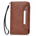 KALAIDENG Protective PU Leather Case for Nokia Lumia 820 - Brown