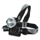 UltraFire TD-020 SSC Z7 900lm 3-Mode White Crown Head Bicycle Headlamp - Black (4 x 18650)