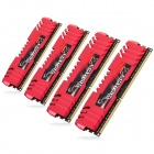 G.SKILL F3-14900CL9Q-16GBZL RipjawsZ DDR3 1866 16G(4 x 4GB) RAM Memory for Desktop PC - Red (4 PCS)