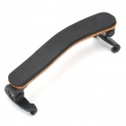 Elegant Maple + Nylon + Rubber Adjustable Shoulder Rest for Violin - Khaki