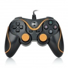 Welcom WE-826S Двойной-Shock USB 2.0 Проводная PC игры Joypad Controller - Black + Orange (150см-кабель)