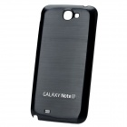 Replacement Battery Back Cover Case for Samsung Galaxy Note 2 N7100 - Black