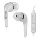 Samsung In-Ear Earphones w/ Mic + Volume Control for Galaxy Note 2 - White(3.5mm-Plug / 120cm-Cable)