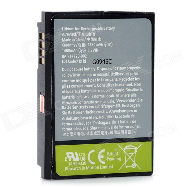 Replacement 3.7V 1380mAh Battery for BlackBerry 8900 / 9500 / 9530 / 9520 / 9650 / 9630 - Grey