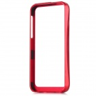 Protective Aluminum Alloy Bumper Frame for iPhone 5 - Red