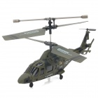 Udi U801A Rechargeable 3.5-CH IR Remote Controlled R/C Helicopter with Gyro - Army Green