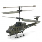 Udi U806A Rechargeable 3.5-CH IR Remote Controlled R/C Helicopter with Gyro - Army Green