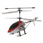 Udi U3 Rechargeable 3.5-CH 27.145MHz Radio Control R/C Helicopter with Gyro - Red + White + Black
