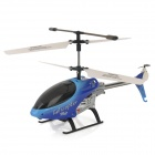Udi U2 Rechargeable 3.5-CH 27.145MHz Radio Control R/C Helicopter with Gyro - Blue + Black + White