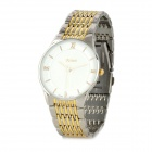 FEIWO 8011L Lady's Stainless Steel Quartz Analog Waterproof Wrist Watch - Golden + More (1 x 377)