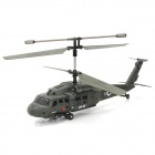 Udi U1 Rechargeable 3.5-CH 27.145MHz Radio Control R/C Helicopter with Gyro - Army Green
