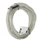 Fly-Time USB 2.0 High Speed Extension Cable with Signal Power Amplifier Chip - White (480cm)