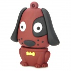 Buy 140 Cute Dog Style USB 2.0 Flash Drive - Coffee + Black (8GB)