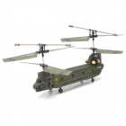 Udi U815 Rechargeable 3.5-CH IR Remote Controlled R/C Helicopter with Gyro - Army Green