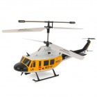 Udi U5 Rechargeable 3.5-CH 27.145MHz Radio Control R/C Helicopter with Gyro - Yellow + White + Black